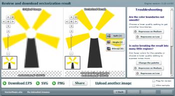 Vector Magic でGifから変換した Nucleus Logo